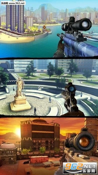 狙击猎手2.15.3完美存档破解版(Sniper 3D)截图2