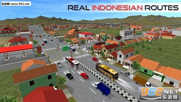 印尼巴士模拟器破解版(大量金币)v2.8.1(BUSSID)_截图1