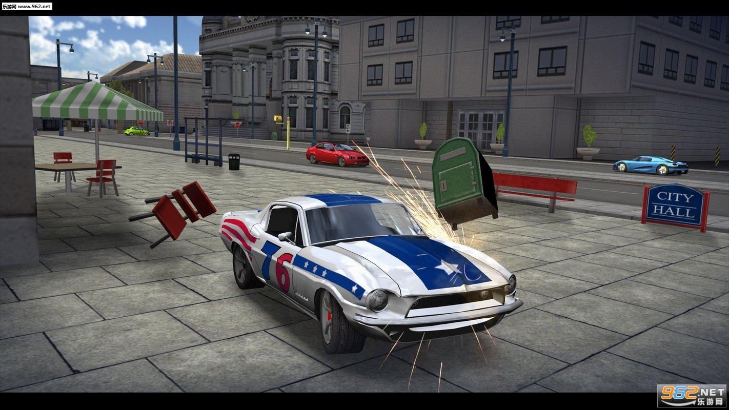 至尊汽车驾驶模拟器旧金山安卓版v4.17.1(Car Driving Simulator: SF)_截图0