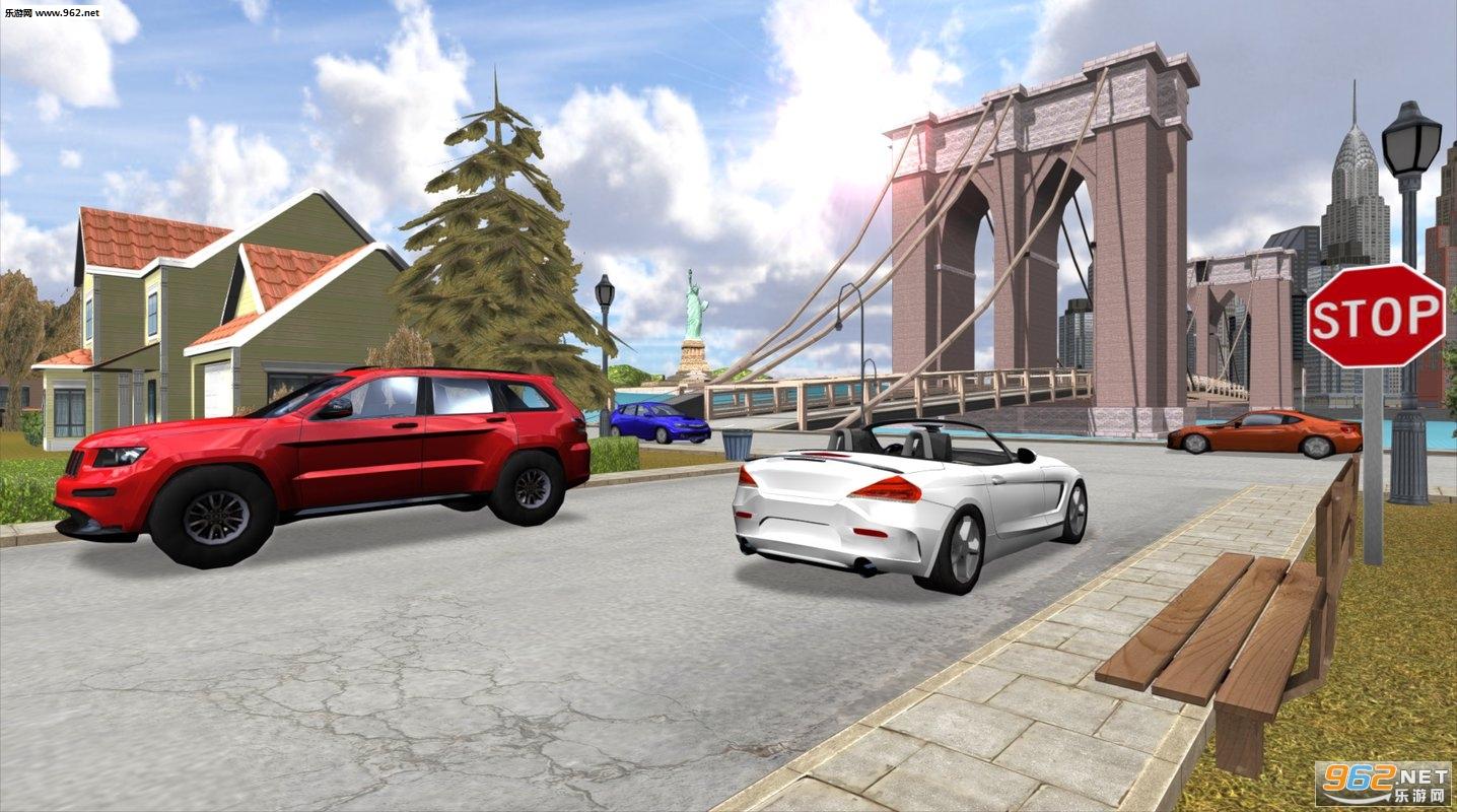 至尊汽车驾驶模拟器NY安卓版v1.0(Car Driving Simulator: NY)_截图0