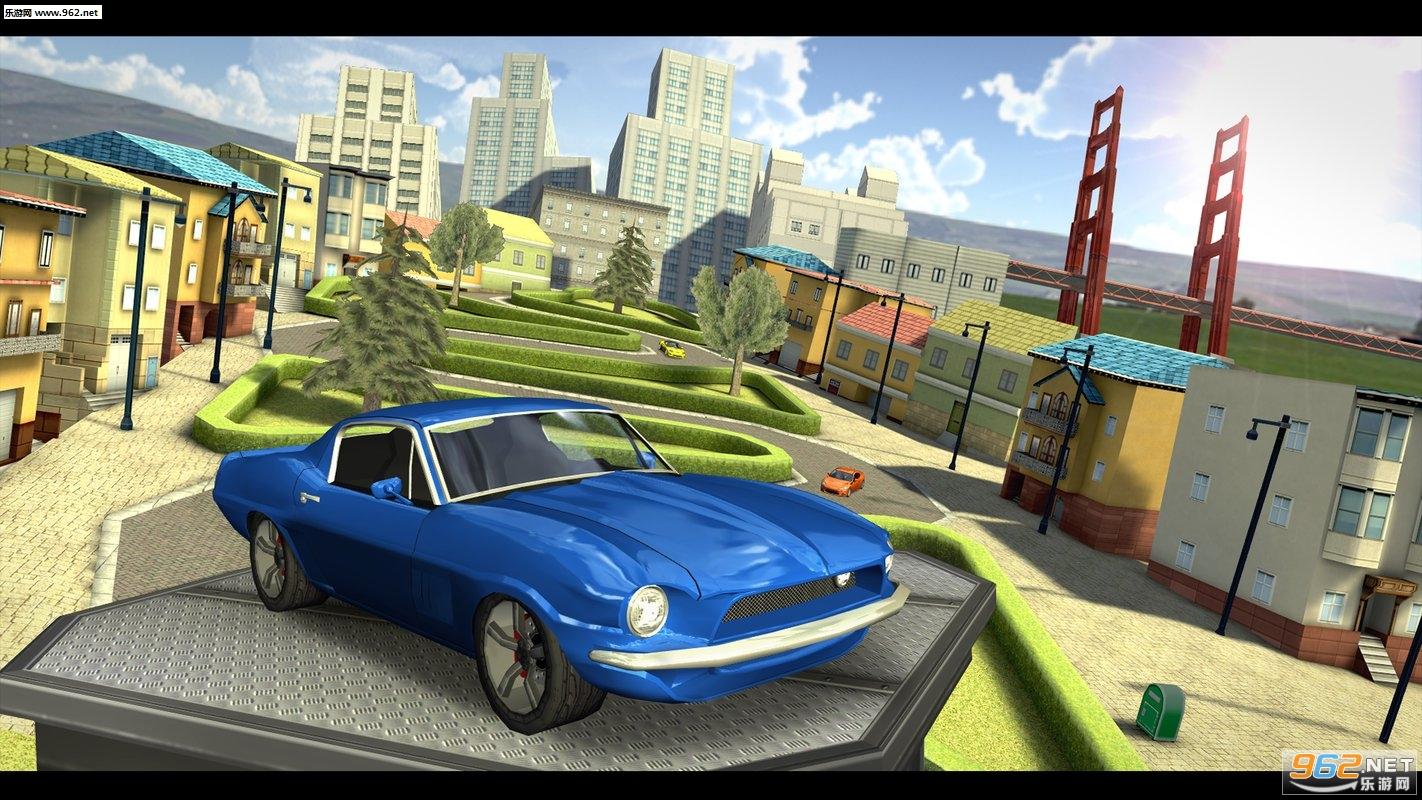 至尊汽车驾驶模拟器旧金山官方版v4.17.1_截图2