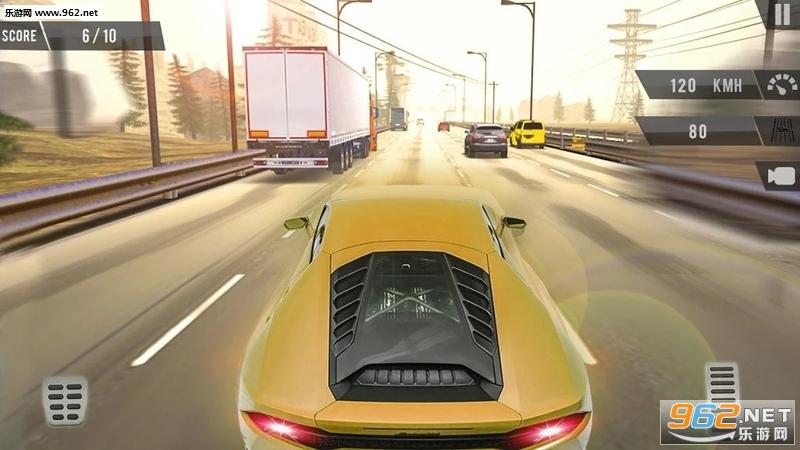 交通赛车手1.8最新版(Traffic Racer Highway Car Driving Racing Game)截图1