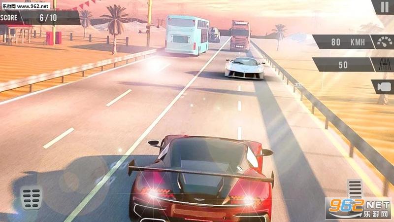交通赛车手1.8最新版(Traffic Racer Highway Car Driving Racing Game)截图5