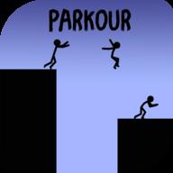 火柴人跑酷官方版v2.2(Stickman Parkour Platform)