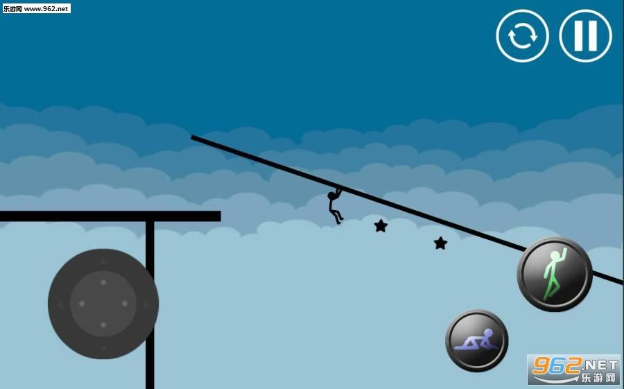 火柴人跑酷官方版v2.2(Stickman Parkour Platform)截图3