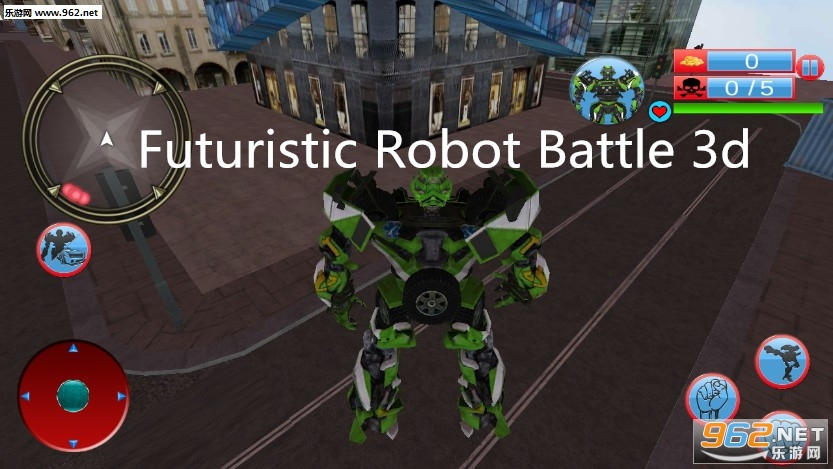 Futuristic Robot Battle 3d安卓版