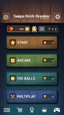 弹射小球安卓版v1.0.23(SwipeBrickBreaker)截图3
