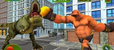 怪物超级英雄大战恐龙游戏安卓版v1.1_截图0