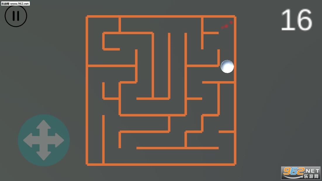 简单绿化迷宫平面图
