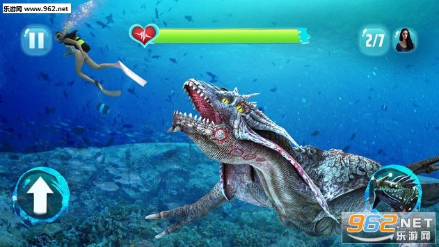Angry Sea Dragon Attack安卓版v1.1_截图0