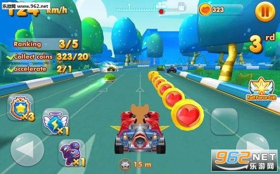 汤姆杰瑞赛车中文版(Tom And Jerry Racer)v1.4.0_截图2