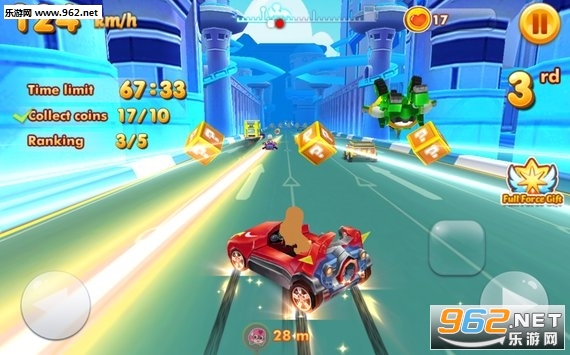 汤姆杰瑞赛车中文版(Tom And Jerry Racer)v1.4.0_截图1
