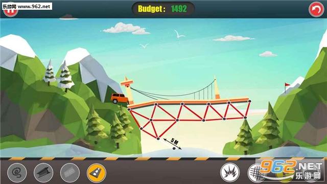 桥梁建造(Bridge Builder)官方版v3.1.0_截图3
