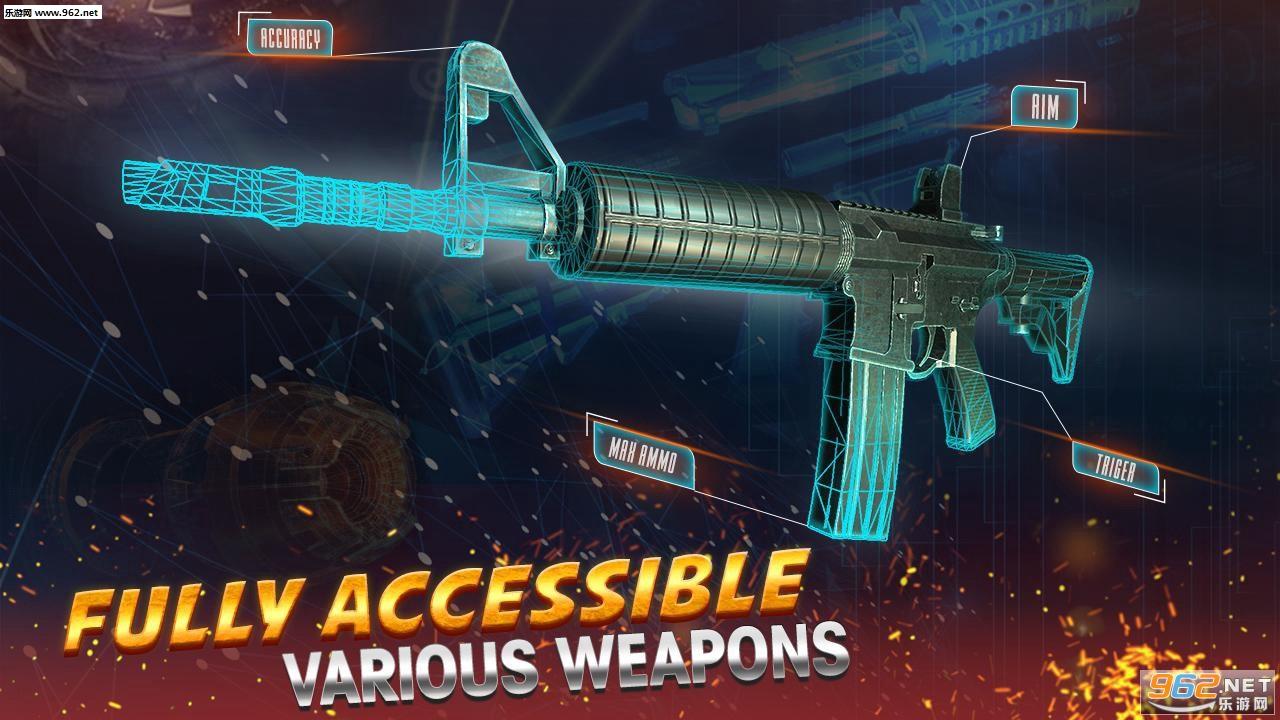 现代突袭安卓版v1.0(Assault Strike Modern Combat Counter Terrorist)截图2