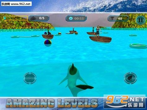Angry Shark Game 2018:Angry Shark Revenge in Wild安卓游戏下载v1.2_截图2