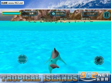 Angry Shark Game 2018:Angry Shark Revenge in Wild安卓游戏下载v1.2_截图1