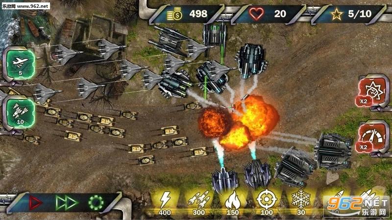 塔防下一场战争安卓版v1.1(Tower Defense Next War)_截图0