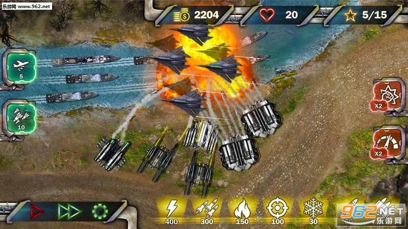 塔防下一场战争安卓版v1.1(Tower Defense Next War)_截图3