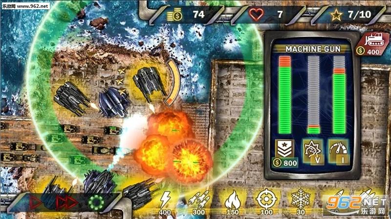塔防下一场战争安卓版v1.1(Tower Defense Next War)_截图4