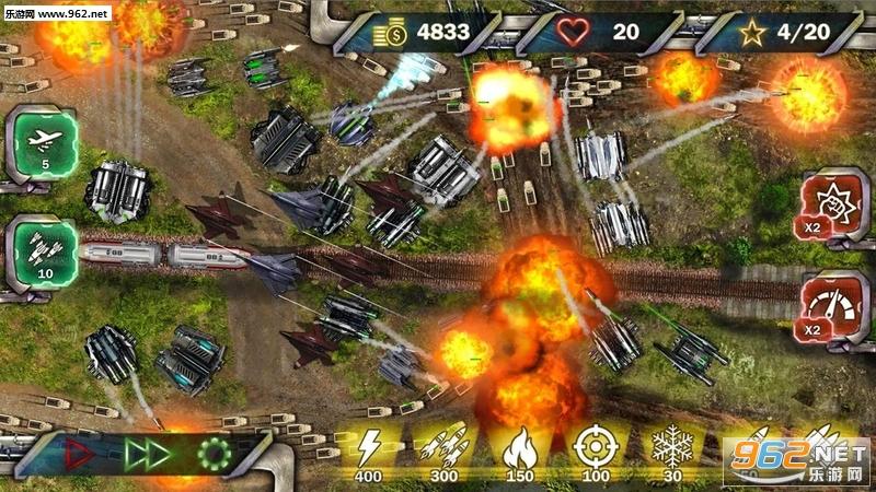塔防下一场战争安卓版v1.1(Tower Defense Next War)_截图1