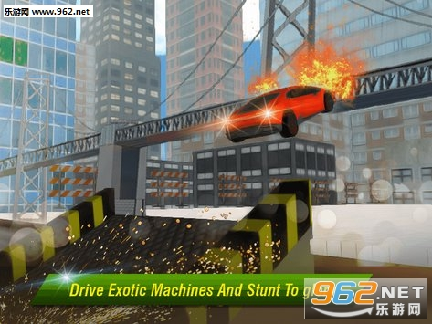 Crime City Car Stunt安卓版v1.1_截图0