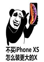 因为您穷所以商店暂时不对您v商店iphoneXS表洗黑锅表情包图片