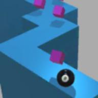 滚球骑墙游戏安卓版(Dancing Roll Wall)v1.4