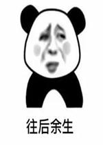 往后表情都是你熊猫头表情动态包污余生很图片