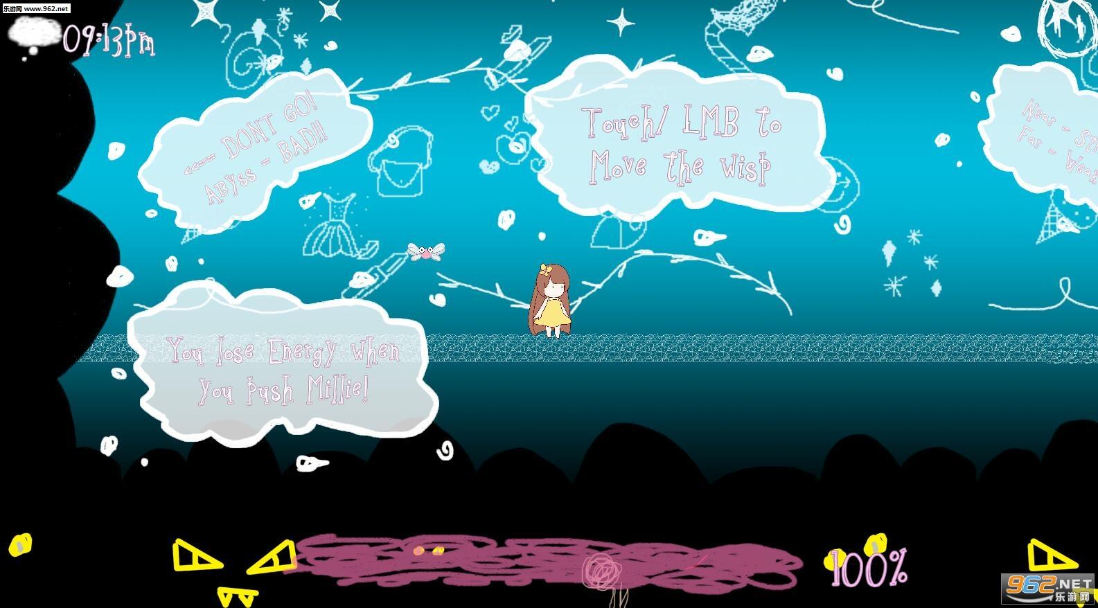 女孩、小精灵、和梦安卓版v0.01(Girl Wisp Dream)截图0