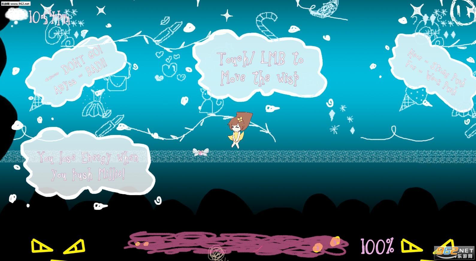 女孩、小精灵、和梦安卓版v0.01(Girl Wisp Dream)截图2