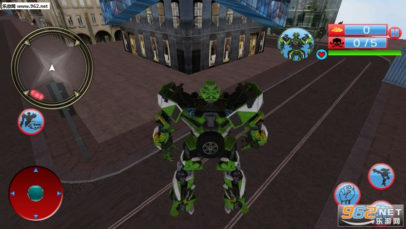 Futuristic Robot Battle 3d安卓版v1.3_截图0