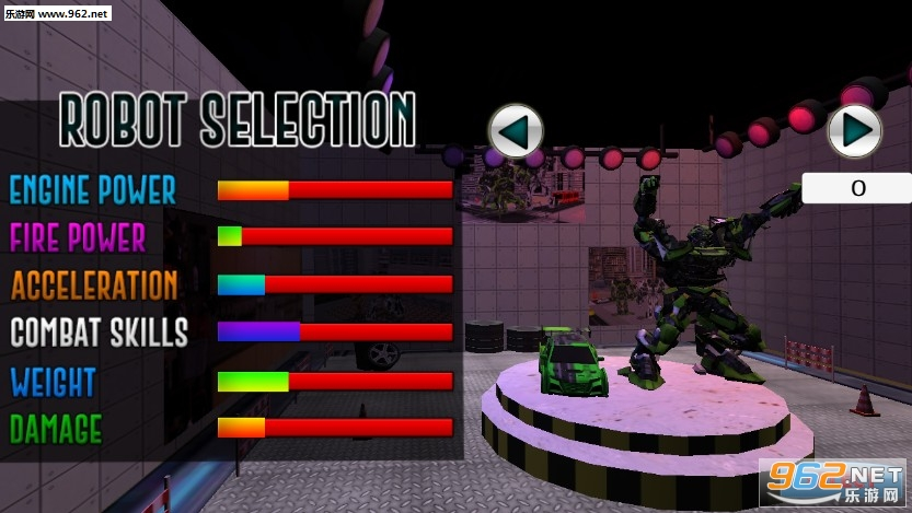 Futuristic Robot Battle 3d安卓版v1.3_截图1
