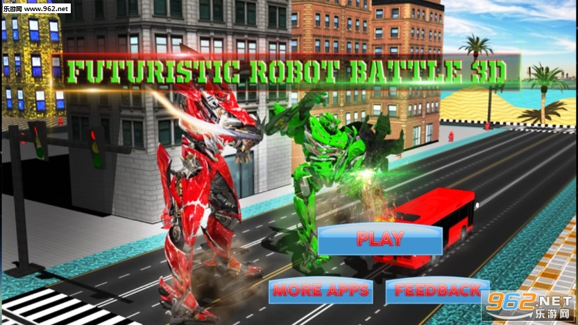 Futuristic Robot Battle 3d安卓版v1.3_截图2