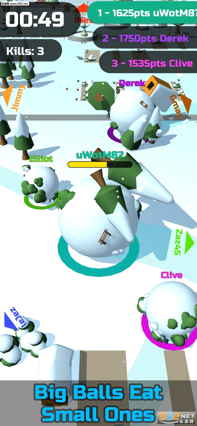 Snowball Clash苹果版_截图1