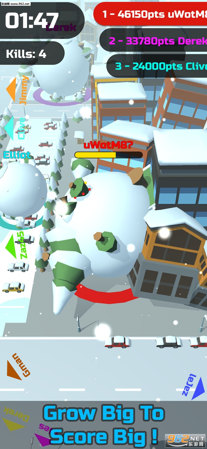 Snowball Clash苹果版_截图2