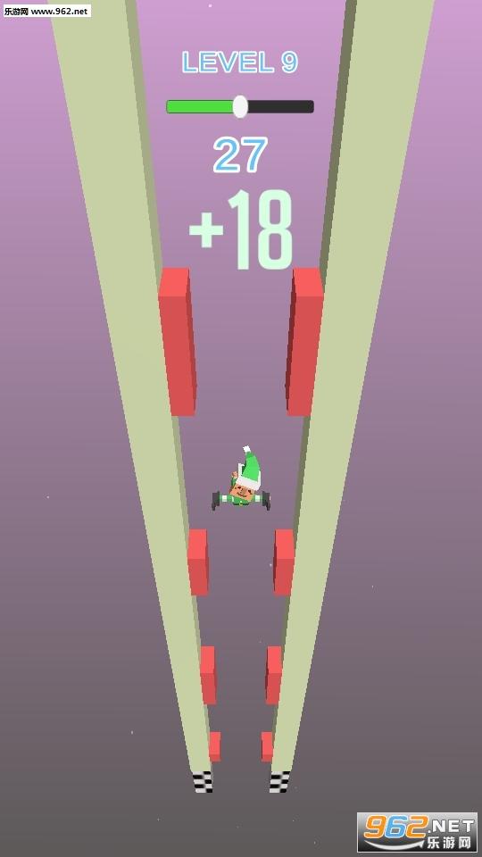 抖音上小人用腿撑住墙Fracture Jump游戏v0.1_截图0