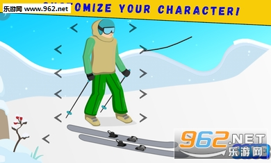双尖滑雪安卓版v1.0截图1