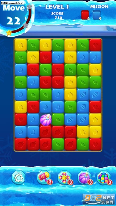 企鹅探险记安卓版v1.1(Cube Block)_截图0