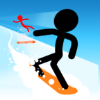 火柴人滑雪完美版