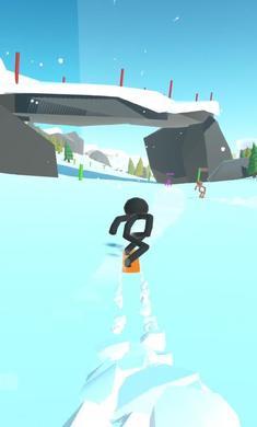 火柴人滑雪完美版v0.1.5截图1
