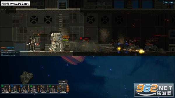 Hypergalaxy Squad超银河登陆队Steam版截图0