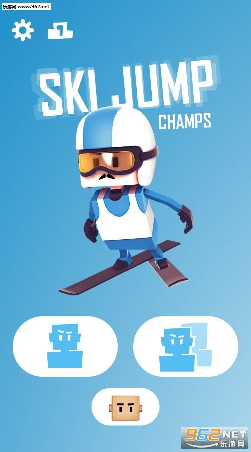 跳台滑雪冠军安卓版v1.0截图0