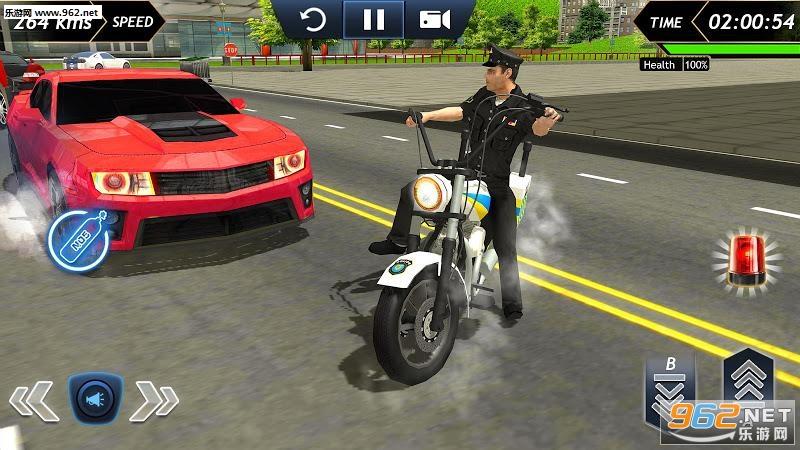 警察摩托车驾驶模拟器安卓版v1.8截图2