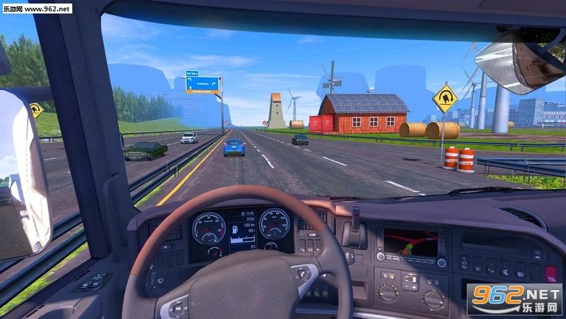 油轮运输车卡车模拟器安卓版v2.6截图2