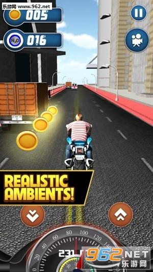 摩托赛车3D安卓版v1.5_截图1