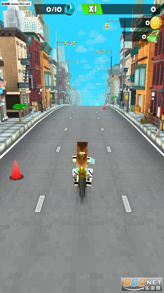 像素摩托车全新角色关卡最新版v2.11.21_截图1