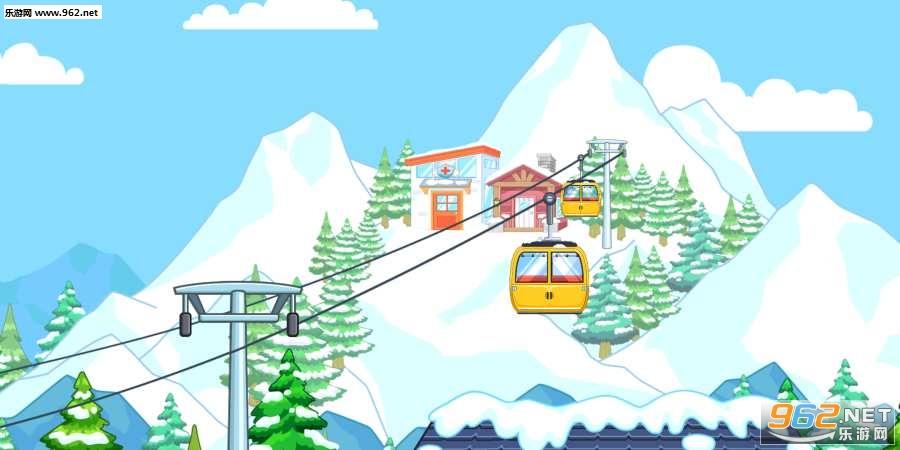 我的城市滑雪场游戏v1.0截图3