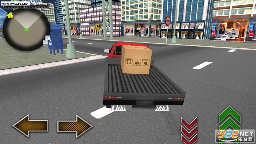 货运卡车城市司机官方版v1.0_截图0