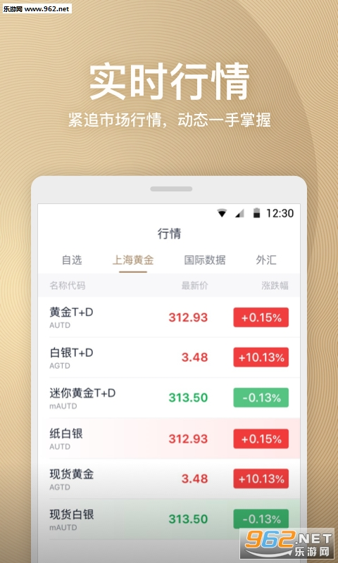 天天黄金appv1.0.0_截图0