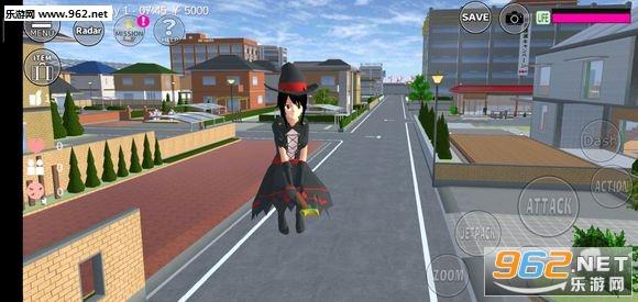 樱花校园模拟器万圣节版v1.033.04_截图2
